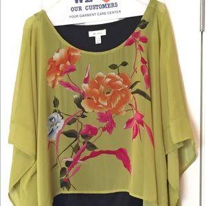 Oriental blouse